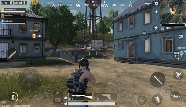 PUBG Mobile experiments on smartphone devices