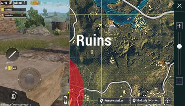Intelligent map interface