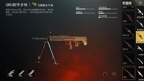 Gun QBU