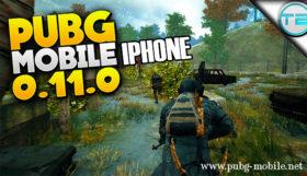 PUBG Mobile iPhone 0.11.0