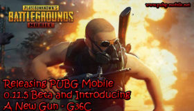 Releasing PUBG Mobile 0.11.5 Beta and Introducing A New Gun - G36C