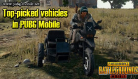 Top-picked vehicles in PUBG Mobile