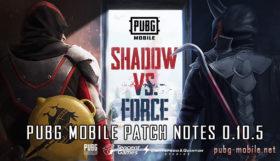 PUBG Mobile Patch Notes 0.10.5
