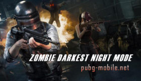Zombie Darkest Night Mode In PUBG Mobile