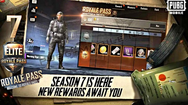 PUBG Mobile: Season 7 Royale Pass