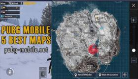 PUBG Mobile 5 best maps