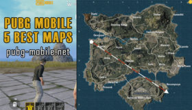5 Best Maps in PUBG Mobile Game