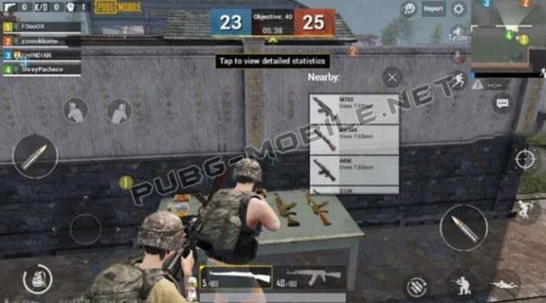 Team Deathmatch Inventory