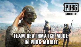 Team Deathmatch Mode in PUBG Mobile