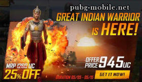 PUBG Mobile Baahubali Outfit