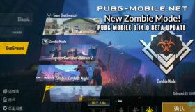 PUBG Mobile 0.14.0 Beta Update