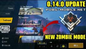 PUBG Mobile 0.14.0 New Zombie Mode