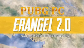 PUBG Mobile Erangel 2.0 Map
