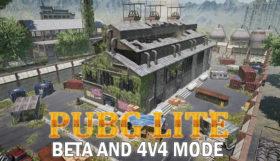 PUBG Lite Open Beta And 4v4 Mode