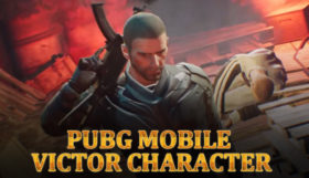 PUBG Mobile Victor Character