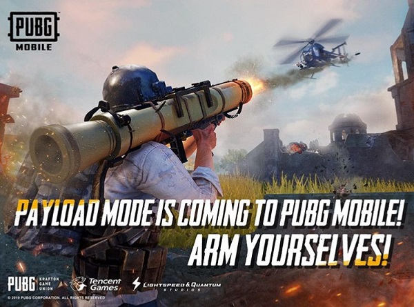 PUBG Mobile: Payload Mode with Helicopters and Other Weapons