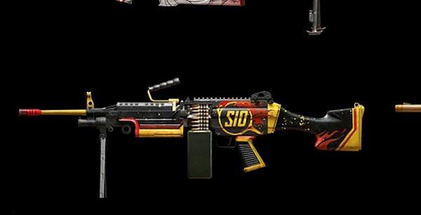 The Gun M249 in PUBG Mobile