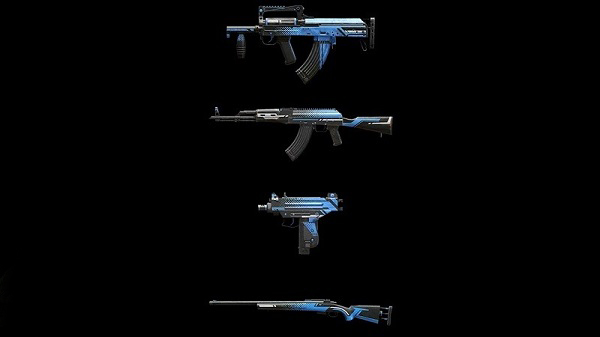 Weapons in PUBG Mobile