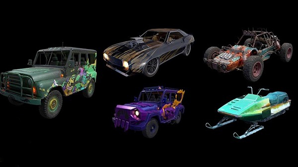 Vehicles in PUBG Mobile