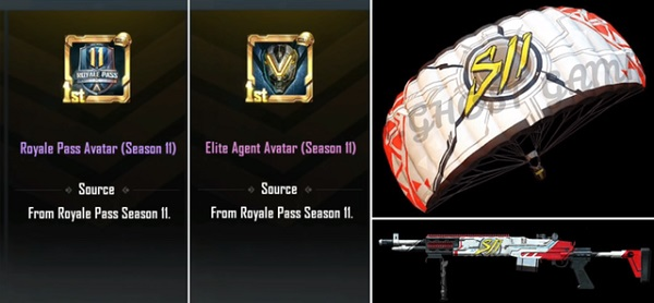 New Rank Rewards For Players in PUBG Mobile Royale Pass Season 11