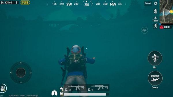 PUBG Mobile Underwater Hack
