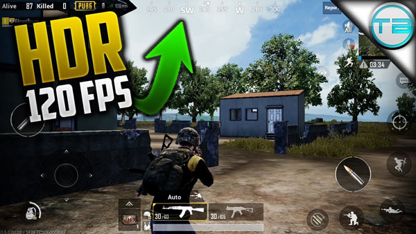 PUBG Mobile supports 90 FPS Gaming Modes