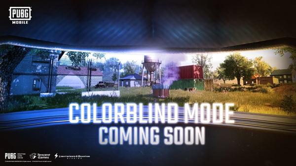 PUBG Mobile Color Blind Mode