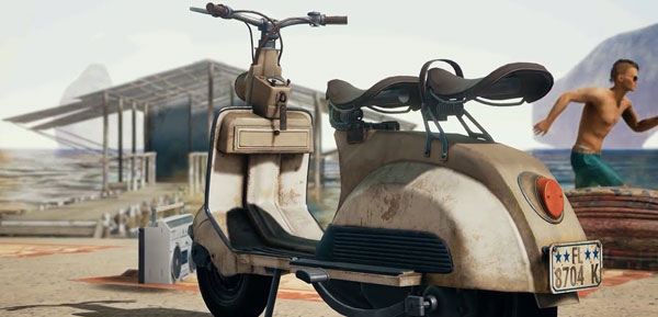 The Scooter from Playerunknown's Battlegrounds