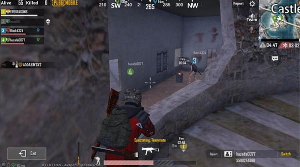 Pay attention to something that has not been extinguished on the minimap
