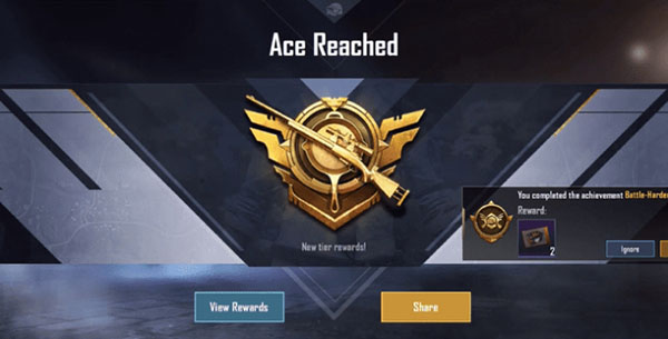 Rank up from the beginning of Season 13