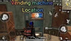 Basic information about Vending Machine In PUBG Mobile