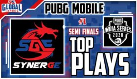 PUBG Mobile India Series 2020 Semifinals Day 1