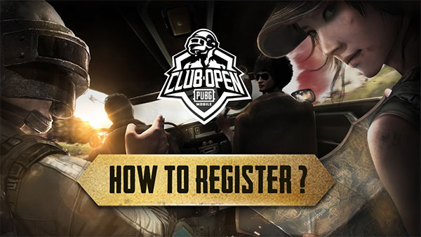 Register for an account in PUBG-mobile.net