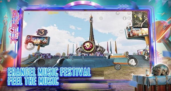Let's the music raise your spirits in the battleground!