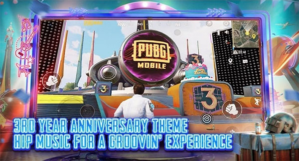 3rd Anniversary for all supporters of PUBG Mobile